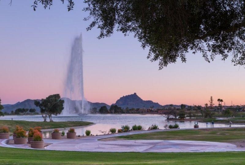 Fountain Hills, Arizona: A Dark Sky Community