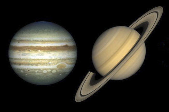 Jupiter and Saturn: The Great Conjunction