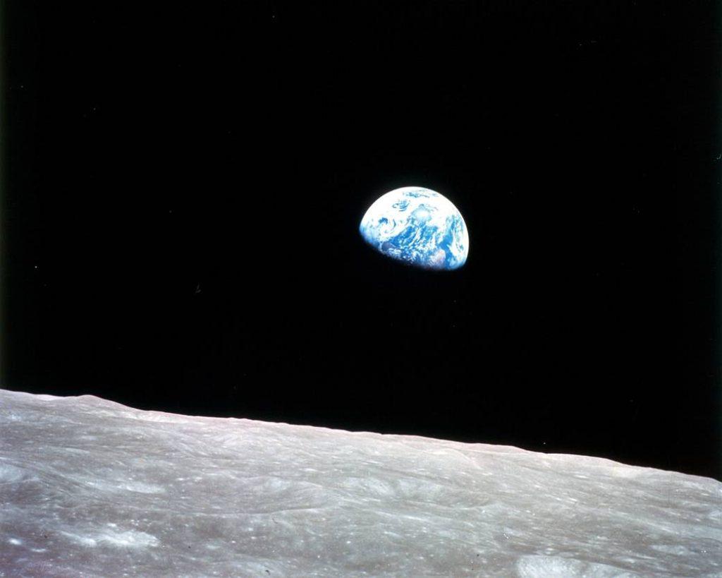 Earth Day Earthrise image