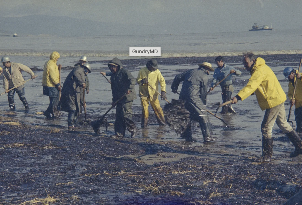 Earth Day- oil spill