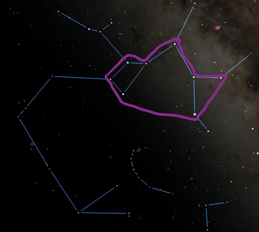 Summer Constellations: Teapot