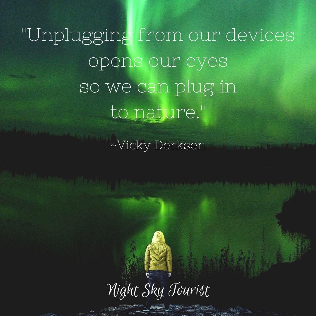 Unplugging quote